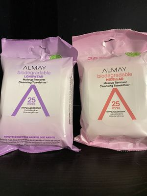 Almay Makeup Remover Cleansing Towelettes/ Wipes for Sale in Los Angeles, CA