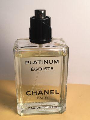 Chanel platinum Egoiste 100ml 3.4 oz for Sale in San Bernardino, CA