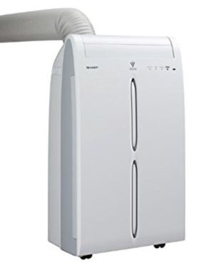 Sharp Portable Air Conditioner - 10,00 BTU (remote and window kit included) for Sale in San Francisco, CA