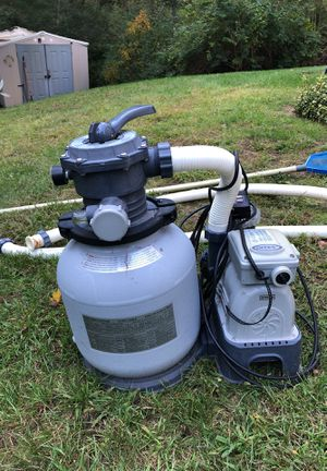 Sand filter pool pump for Sale in Tewksbury, MA