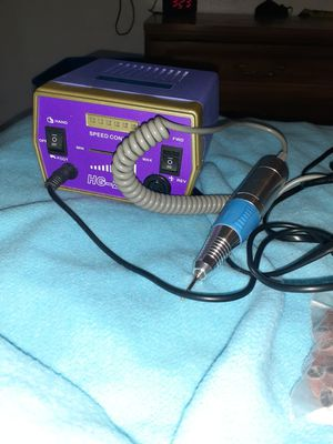 Nail drill Hg 206 with foot peddle for Sale in Portland, OR