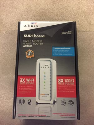 Cable modem & WiFi Router for Sale in Kansas City, KS