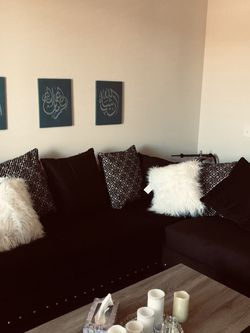 Sectional BLACK for Sale in Dallas,  TX