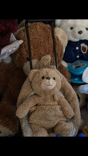 Teddy bear 🧸 backpack carry on luggage $75.00 for Sale in Glendale, AZ
