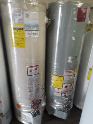 Only today water heater for 120 whit installation for Sale in Perris, CA