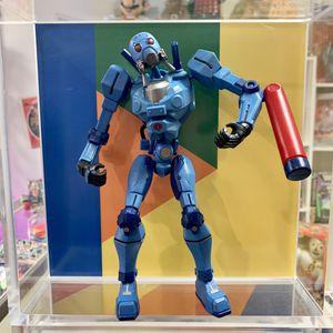 "2005 Hasbro GI Joe Sigma Six Blue Cobra Sky B.A.T. Battle Cartoon 8"" Poseable Action Figure for Sale in Arlington, VA"