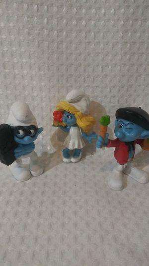 Smurfs figures for Sale in Hemet, CA