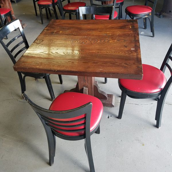 Solid wood tables