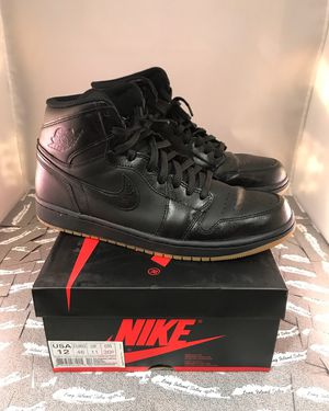 JORDAN BLACK GUM 1 for Sale in Seattle, WA