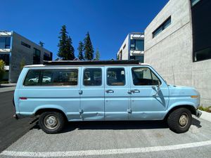 CAMPER VAN, renovated 1986 Ford Econoline for Sale in Seattle, WA