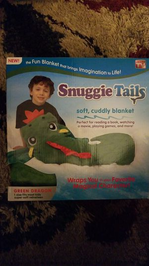 Snuggie Tails Green Dragon for Sale in St. Petersburg, FL