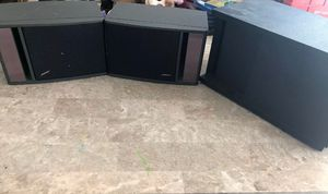 Bose Acoustimass 3 Series II Stereo Music Speaker System Set W/2 Bose 141 for Sale in Elgin, IL