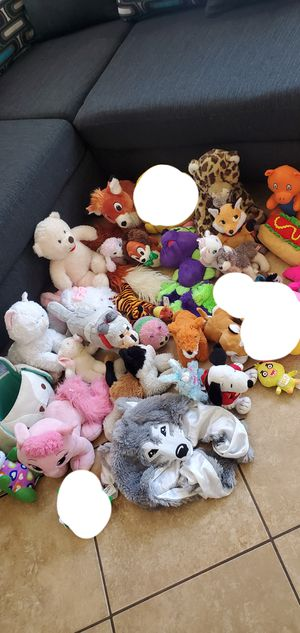 Stuffed animals lot for Sale in Phoenix, AZ