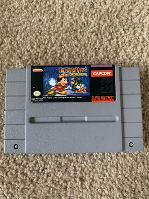 The Magical Quest Starring Mickey Mouse SNES for Sale in San Diego, CA