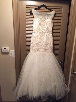 White Wedding Dress for Sale in Manassas, VA