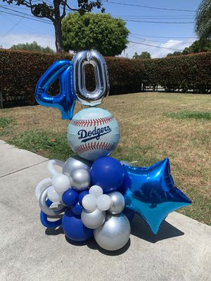 Dodgers Balloon Bouquet for Sale in Los Angeles, CA
