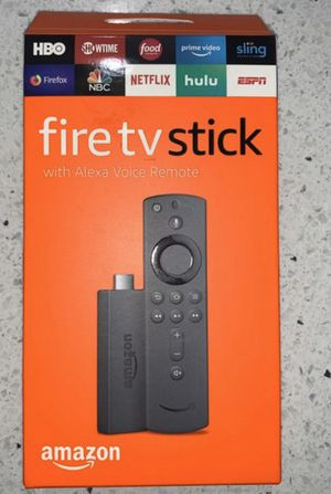 Fire TV Stick with Alexa remote - NEW (Open Box) for Sale in Bothell, WA