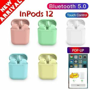 Newest arrival i12 TWS INPODS BLUETOOTH 5.0 Wireless Headphones Airpods For iphone Android for Sale in Anaheim, CA