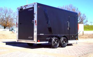 Price$1000 CARGO Trailer Black for Sale in Chicago, IL
