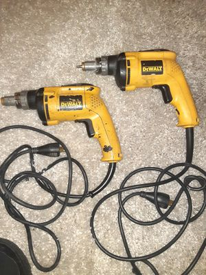 Dewalt screw guns for Sale in Revere, MA