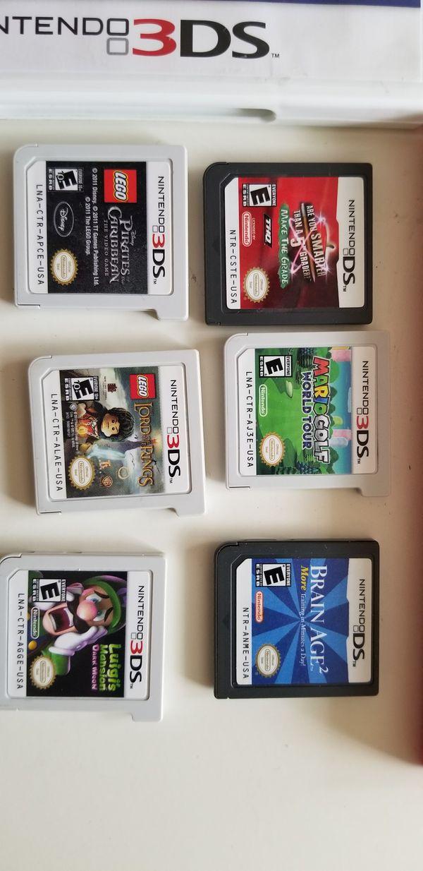 3dsxl games
