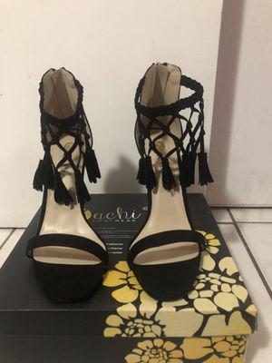 Black Tassel heels for Sale in Miami, FL
