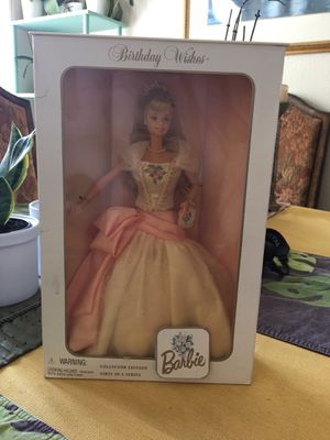 Barbie Doll Birthday Wishes for Sale in San Lorenzo, CA