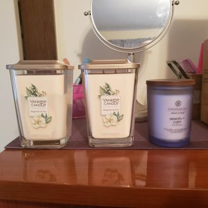 3 yankee candles for Sale in PA, US
