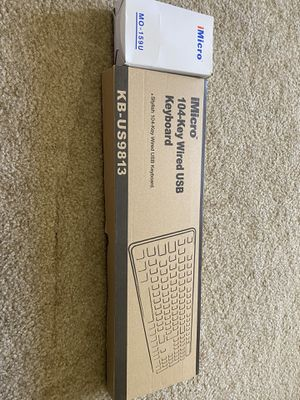 USB keyboard and mouse - brand new - still in box for Sale in Arcadia, CA