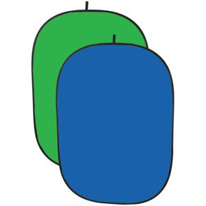 IMPACT BGC-CBG-57 Collapsible Background 5 x 7' Chroma Blue/Green (New) for Sale in Millbrae, CA