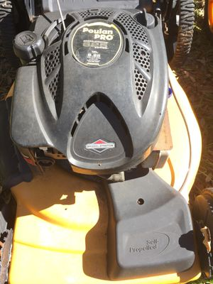 190cc Poulan Pro Self Propelled mower for Sale in Frostproof, FL