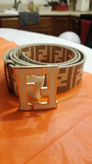 FENDI Designer belt for Sale in Washington, DC