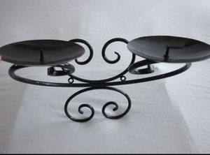 Artdeco 2 Candles Metal Scrollwork Wall Candle 🕯 Holder Home Accent Decor for Sale in El Cajon, CA