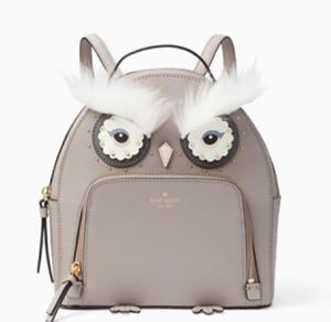 NWT Kate Spade Gray Owl Tomi Cityscape backpack for Sale in Gardena, CA