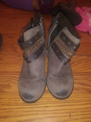 Lil girl boots a lil scuffed size 12 for Sale in Philadelphia, PA