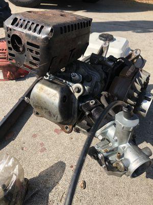 Honda cmt db carb billet mount 32 lb spring mini bile go kart pz27 F&B pipe black mamba 290 cam for Sale in Long Beach, CA
