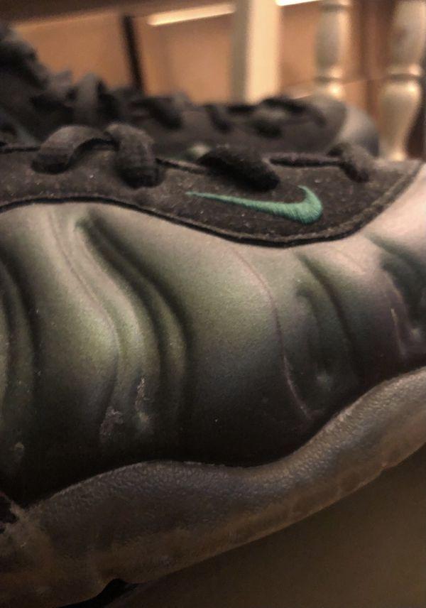 Air foamposite pro Pine Green Size 8
