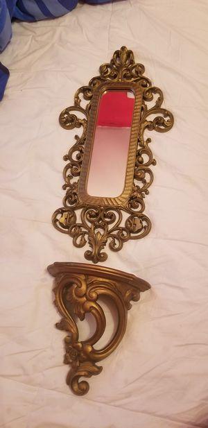 Mirror , sconces gg or wall decor for Sale in Miami, FL