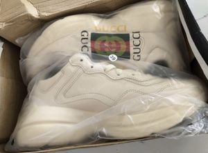 Rhyton Gucci Logo Leather Sneakers for Sale in Durham, NC