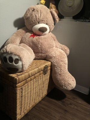 "59"" jumbo teddy bear for Sale in Temecula, CA"