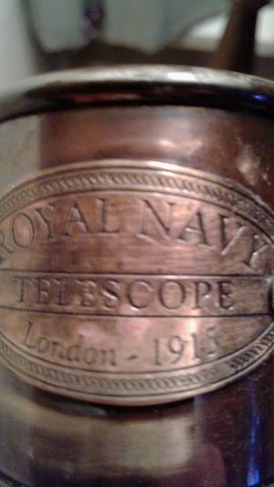 Royal navy telescope london 1915 for Sale in Lancaster, OH
