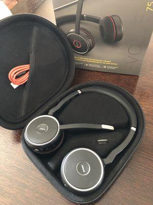 Jabra Evlove75 wireless headset - EUC for Sale in Englewood, CO