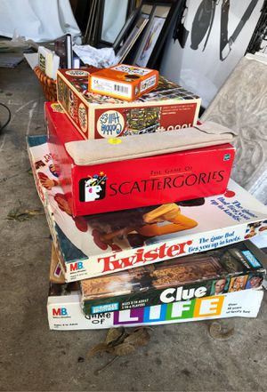 Lot of board games for Sale in Fort Worth, TX
