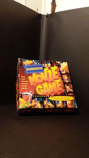 Blockbuster Movie Game Board Game for Sale in Woodstock, GA
