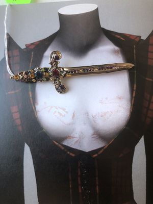 Sword brooch costume jewelry for Sale in Los Angeles, CA