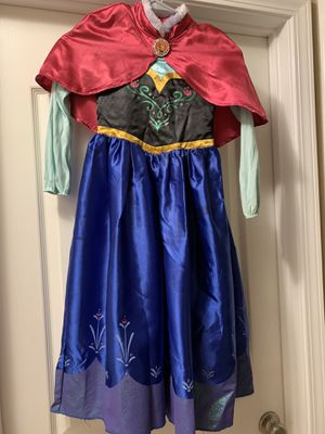 Anna costume size 7/8. $15 for Sale in Kingsburg, CA