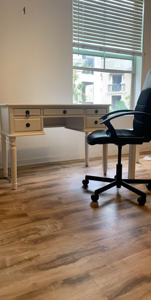 a small office with chair with coffee table for Sale in Irvine, CA