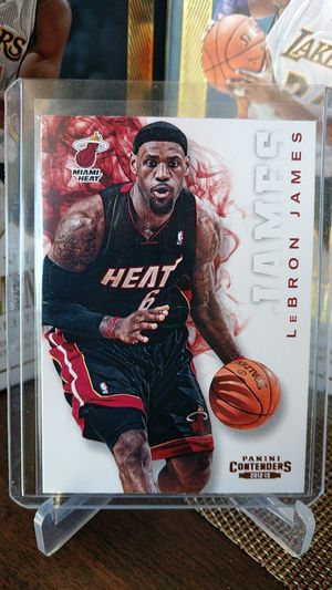 LeBron James card for Sale in Lakewood, CA