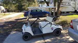 1998 club car good tires led lights and batteries are good runs great for Sale in Pass Christian, MS