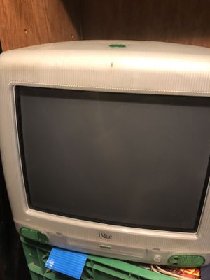 Vintage Apple Vintage Apple iMAC M5521 PC Desktop Computer Lime Green With OSX 9.2, still Works for Sale in Colorado Springs, CO